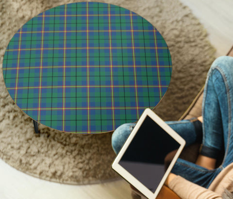 Carmichael Ancient Tartan Circular Coffee Table