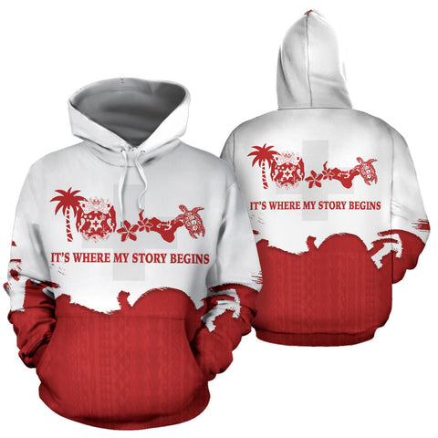 Tonga Where My Story Begins Hoodie K5