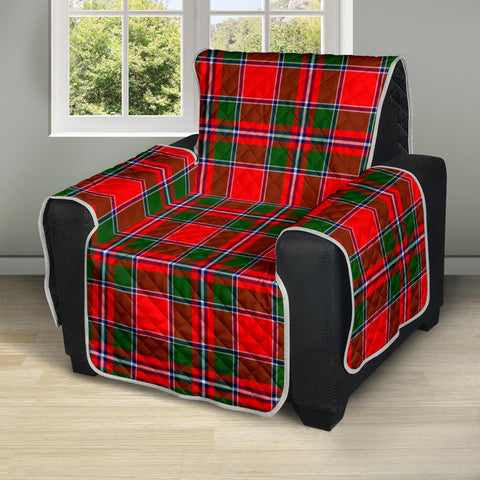 Image of Spens Modern Tartan Recliner Sofa Protector A9 copy