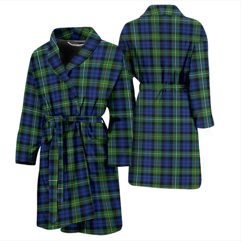 Image of Campbell Argyll Ancient Bathrobe - Men Tartan Plaid Bathrobe Universal Fit