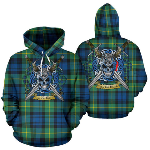 Gordon Ancient Tartan Hoodie Celtic Scottish Warrior A79 | Over 500 Tartans | Clothing | Apaprel