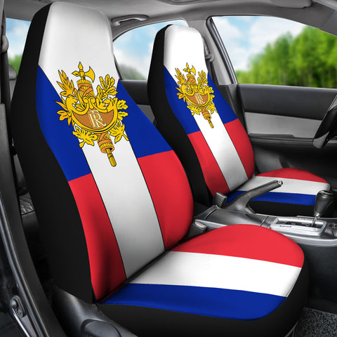 France Coat of Arms Car Seat Cover A2