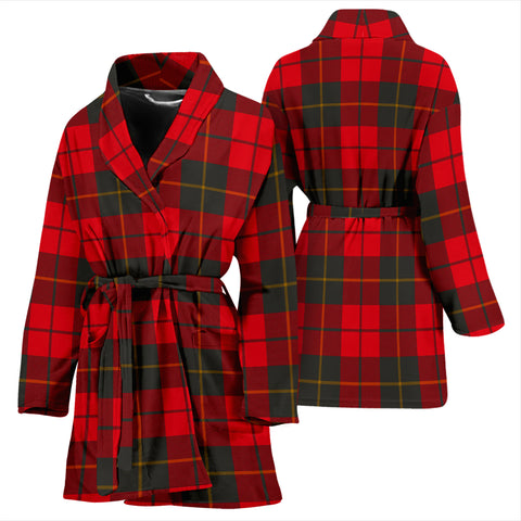 Wallace Weathered Tartan Women's Bathrobe - BN03
