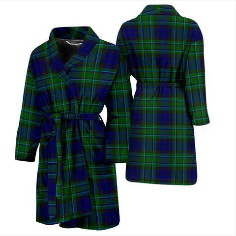 Image of Maccallum Modern Tartan Men's Bathrobe - Bn04