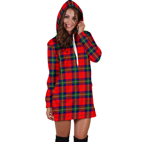Ruthven Modern Tartan Hoodie Dress HJ4 |Women's Clothing| 1sttheworld