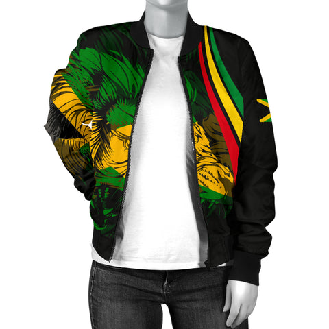 Jamaican Women's Bomber Jacket