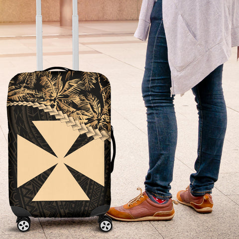 Wallis And Futuna Luggage Covers Golden Coconut | Love The World
