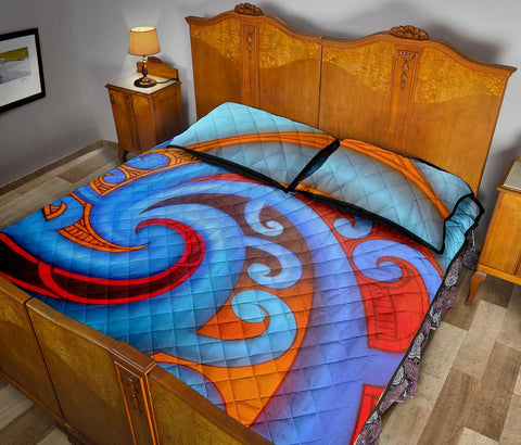 Image of Maori Quilt Bed Set 40 Bn10