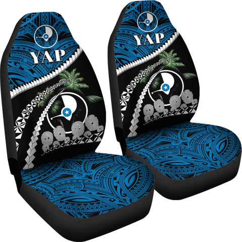 Image of Yap Stone Money Car Seat Covers - Road to Hometown K4