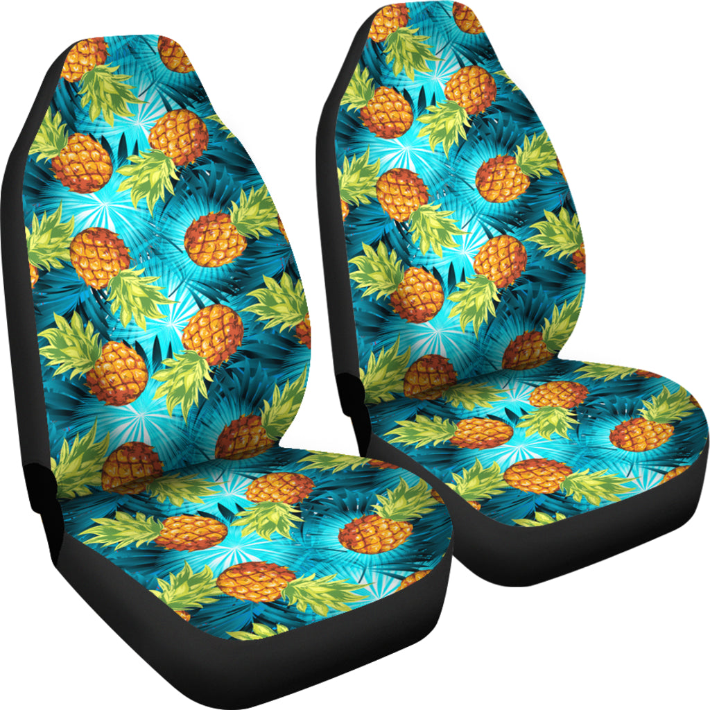 Hawaiian Car Seat Covers >> Hawaiian Car Seat Covers Universal Fit Hawaii Pineapple H9