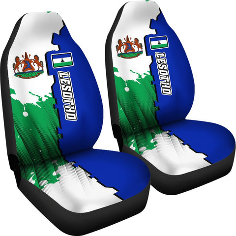 Lesotho Car Seat Covers - Independence Day