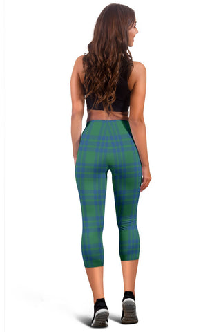 Montgomery Ancient Tartan Capris Leggings