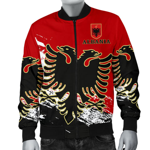 Image of Albania Special Men's Bomber Jacket A7