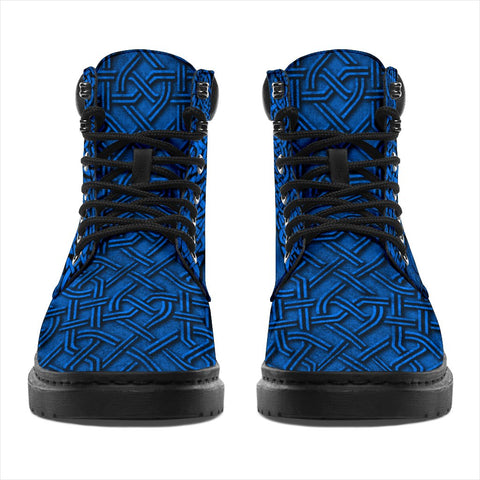 Image of Scotland All Season Boots Lion Celtic Knot K4