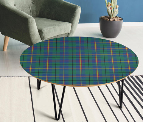 Image of Carmichael Ancient Tartan Circular Coffee Table