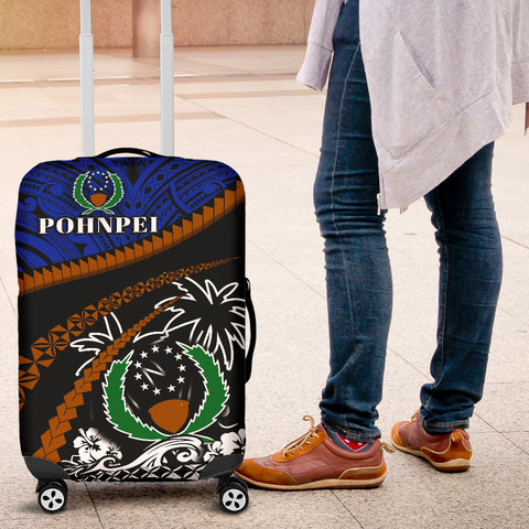 Pohnpei Luggage Covers - Road to Hometown K4