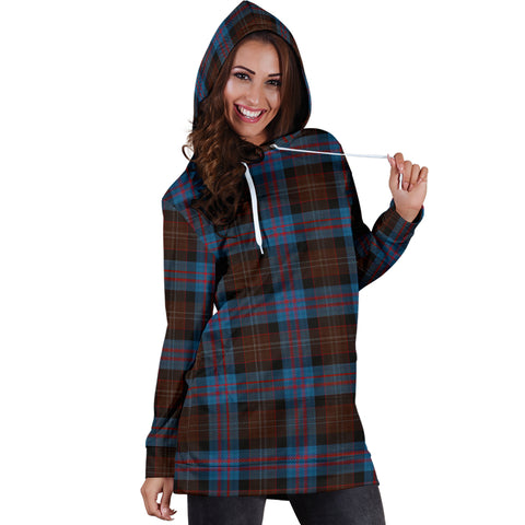 Applestone Tartan Hoodie Dresses HJ4 |Women's Clothing| 1sttheworld