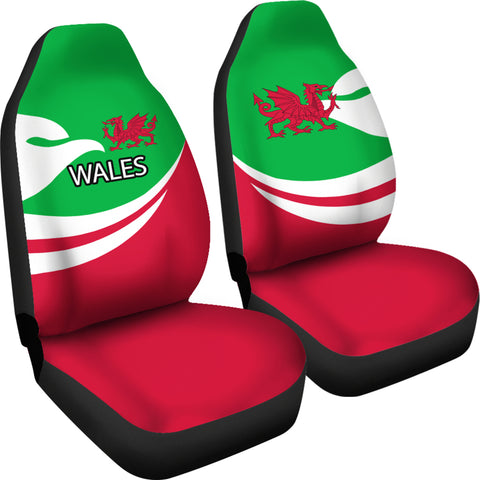 Wales Car Seat Covers Proud Version