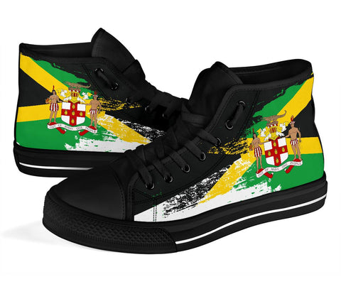 1stTheWorld Jamaica High Tops Shoes New Release A25