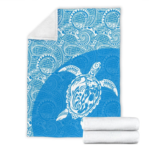 Hawaii Turtle Mermaid Premium Blanket 09 TH90