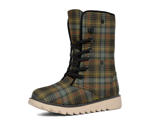 Image of Stewart Hunting Weathered Tartan Polar Boots Hj4