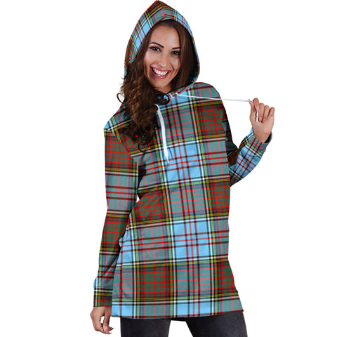 Anderson Ancient Tartan Hoodie Dress HJ4 |Women's Clothing| 1sttheworld