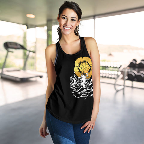 The Golden Koi Fish Women's Racerback Tank A7