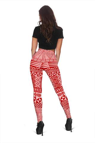 Image of Hawaii Leggings - Hawaiian Polynesian Leggings 02 H4