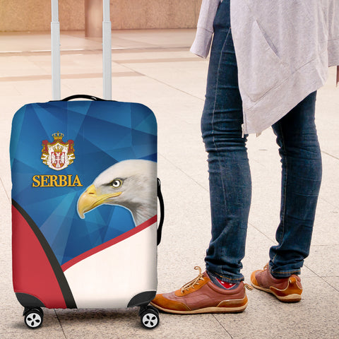 Serbia Luggage Covers White Eagle Version K12