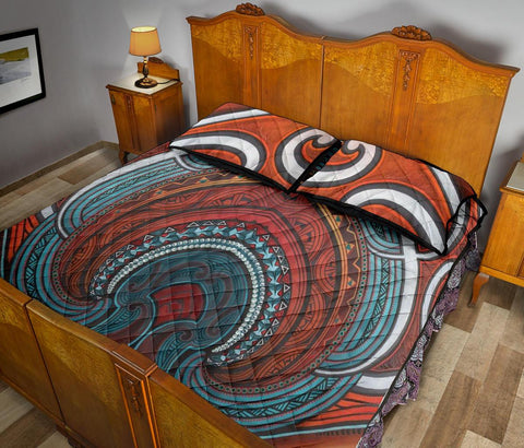 Image of Maori Quilt Bed Set 04 Bn10