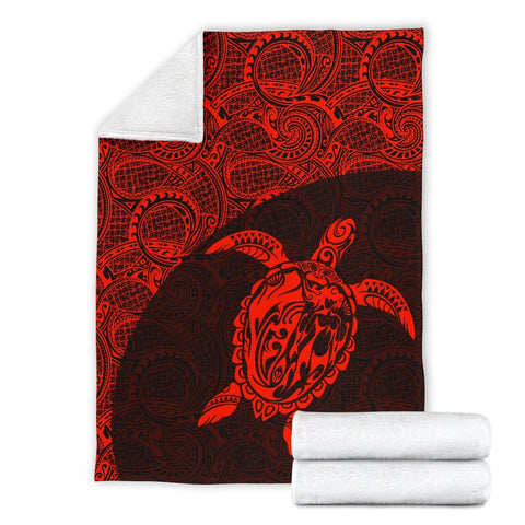 Hawaii Turtle Mermaid Premium Blanket 01 TH90