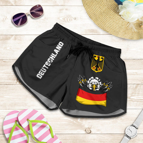 (Deutschland) Germany Women'S  Shorts National Eagle A7