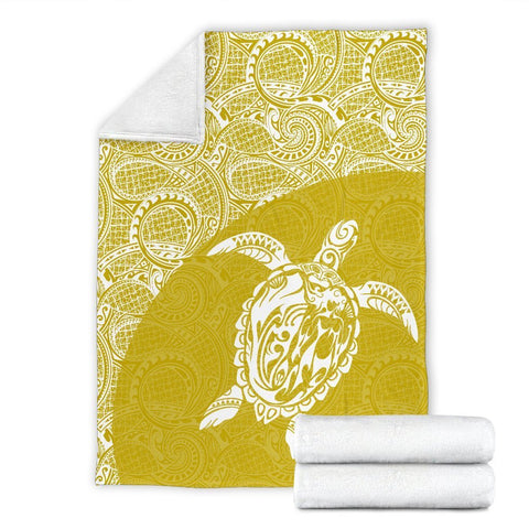 Hawaii Turtle Mermaid Premium Blanket 11 TH0