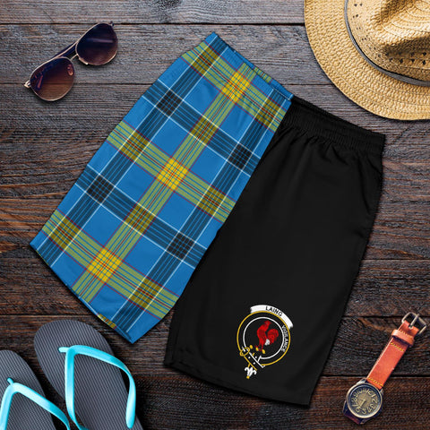 Laing Tartan Men Shorts Half Of Me K7