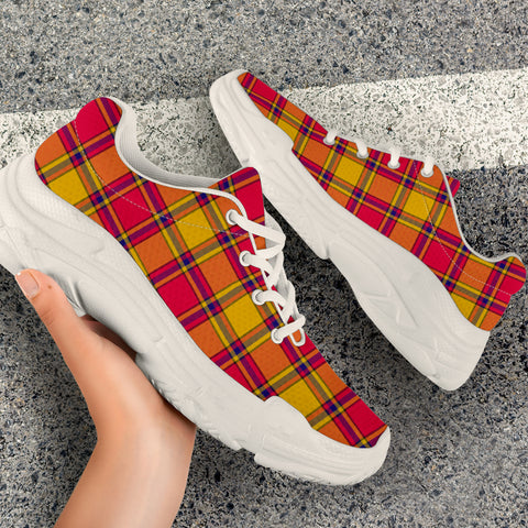 Image of Scrymgeour Tartan Chunky Sneaker - BN