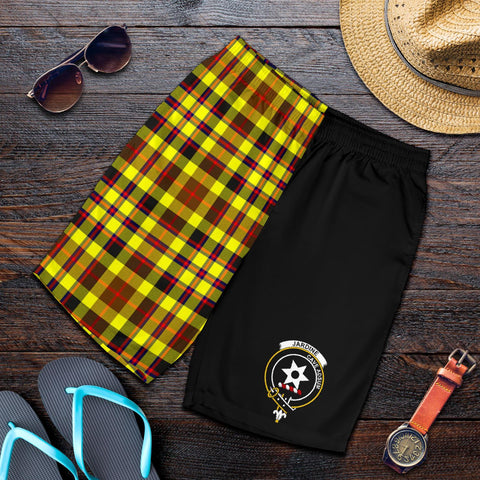 Jardine Tartan Men Shorts Half Of Me K7