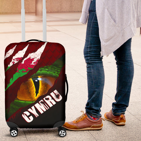 Welsh Luggage Covers - Dragon Eyes | Love The World