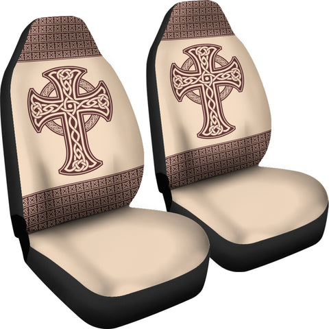 Image of Celtic Cross Car Seat Covers K5