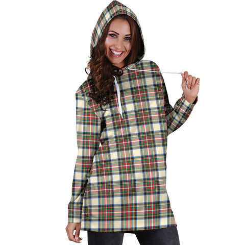 Stewart Dress Ancient Tartan Hoodie Dress HJ4 |Women's Clothing| 1sttheworld