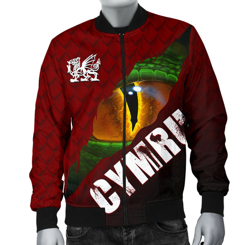 Welsh Bomber Jacket - Dragon Eyes (Men) | Love The World