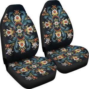 Rogaland Rosemaling Car Seat Cover | HOT Sale