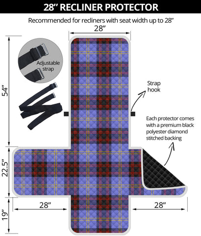 Image of Rutherford Tartan Recliner Sofa Protector | Tartan Home Set
