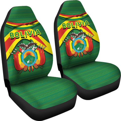 Bolivia Car Seat Covers - Vibes Version K8