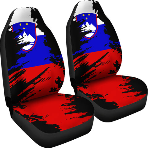 Slovenia Painting Car Seat Cover TH3