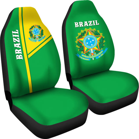 Image of Brazil Car Seat Covers Streetwear Style