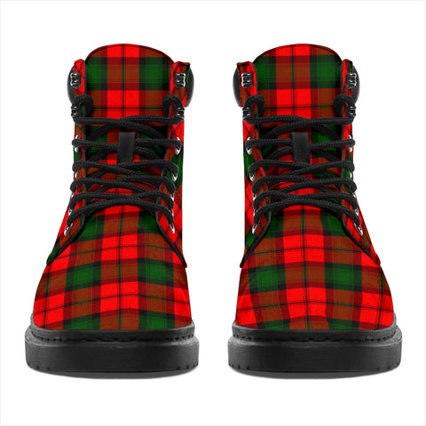 Image of Kerr Modern Tartan Clan Crest All-Season Boots HJ4
