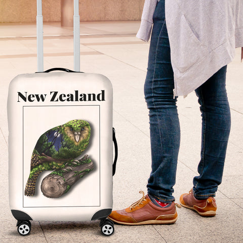 New Zealand Kea Parrot Luggage Cover K4