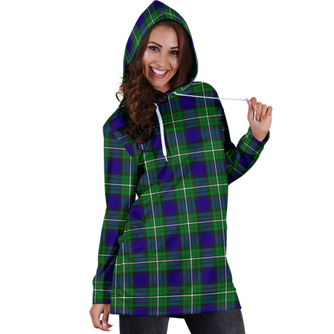 Image of Alexander Tartan Hoodie Dress HJ4
