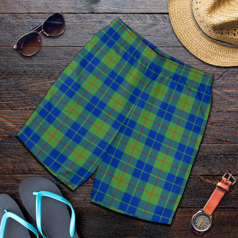 Image of Barclay Hunting Ancient Tartan Shorts For Men