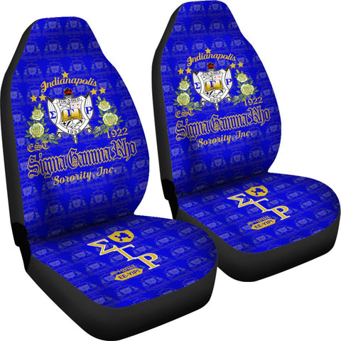 Image of SIGMA GAMMA RHO Car Seat Covers A31